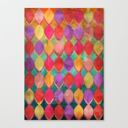 Full Colour Poem Canvas Print