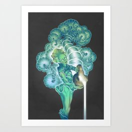 The Lunar Divine Art Print