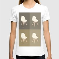 eames T-shirts featuring Eames x 4 #4 by bittersweat