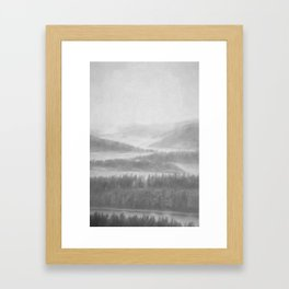Northern Shores Framed Art Print