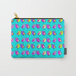 Owls turquoise Carry-All Pouch