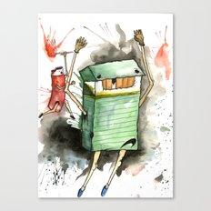 RUN! Canvas Print