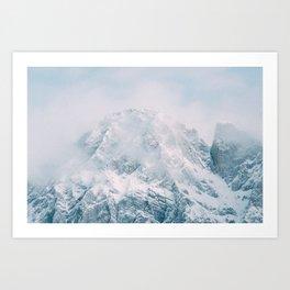 Mount Blane Art Print