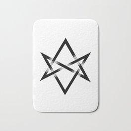 Unicursal Hexagram Bath Mat