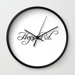 Hope Road Wall Clock