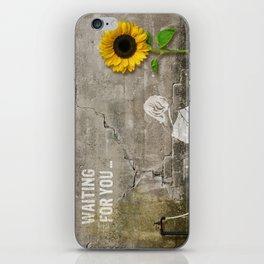 waiting for you... iPhone Skin