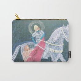 St. Martin and the Beggar Carry-All Pouch