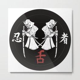 Samurai #3 Metal Print