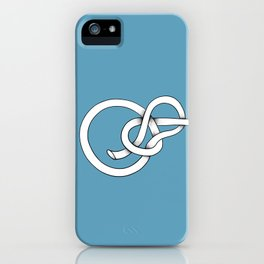 blue knot iPhone Case