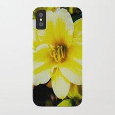 Slow Wilting Beauty iPhone X Slim Case