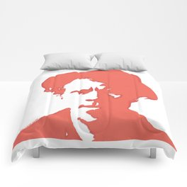 Tom Waits in Red Comforters
