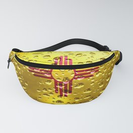 Flag of New Mexico - Raindrops Fanny Pack