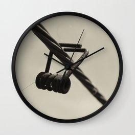 Half Peg Wall Clock