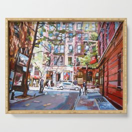 Minetta Lane, Greenwich Village Serving Tray