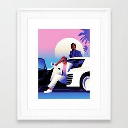Vice Framed Art Print