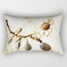 Pebble Daisy Rectangular Pillow
