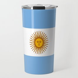 Flag of argentina -Argentine,Argentinian,Argentino,Buenos Aires,cordoba,Tago, Borges. Travel Mug