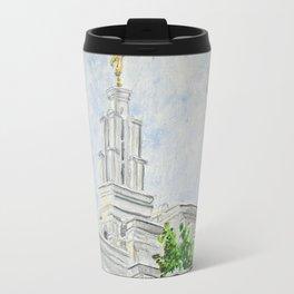 San Antonio Texas LDS Temple Travel Mug