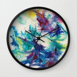 Dance With Abandon Wall Clock
