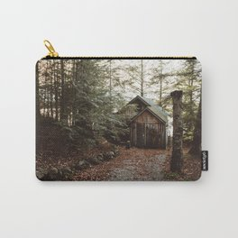 Cabin on Pleasant Lake Carry-All Pouch