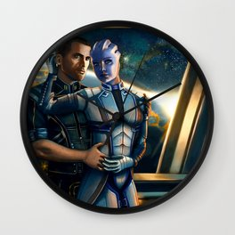 Mass Effect - Always here for you. Wall Clock