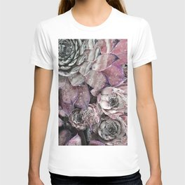 succulent pink T-shirt