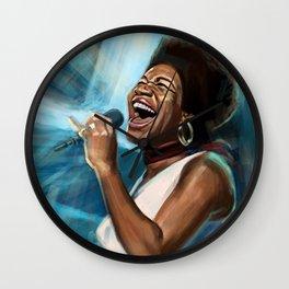Aretha Franklin Still Sings Wall Clock