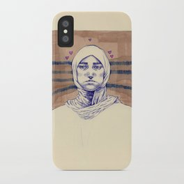 Untitled (Five Hearts) iPhone Case