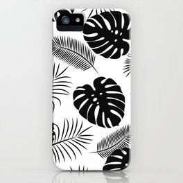 TROPICAL LEAVES 7 iPhone Case