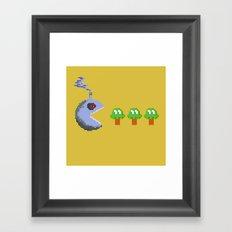 March of Progress | videogame #tribute | #pixelart Framed Art Print
