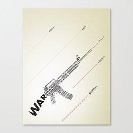 The Ammunition of War Canvas Print