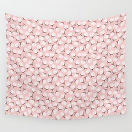 Peony Flower Pink Wall Tapestry