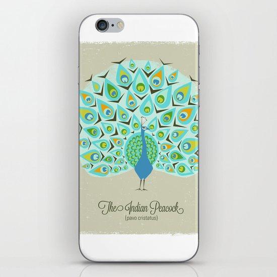 The Indian Peacock iPhone & iPod Skin