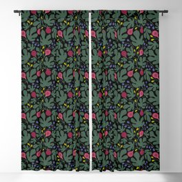 FIGS green Blackout Curtain