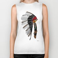 native Biker Tanks featuring Native  by weliketrees