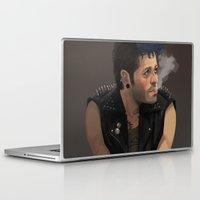 punk Laptop & iPad Skins featuring Punk by Pat-a-tat