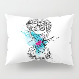 Abstract skull Pillow Sham