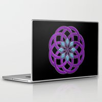 supreme Laptop & iPad Skins featuring Flower Supreme by Pedro Vale