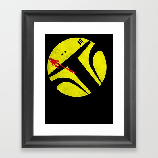 Who Watches the Bounty Hunters? Framed Art Print