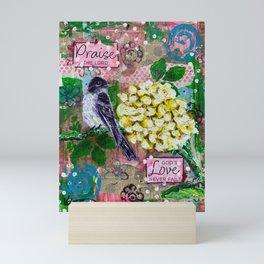 Praise and Love Mini Art Print