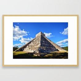 Chichen Itza (Mexico) Framed Art Print