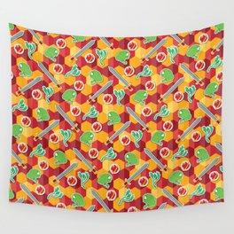 Geeky Neville Longbottom Pattern Wall Tapestry