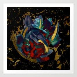 Gold Dreams Art Print