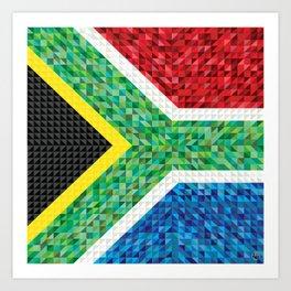 South Africa Art Print