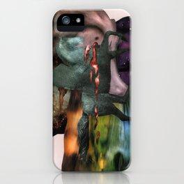 Cosmic Dust   Collage iPhone Case