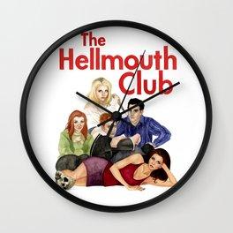 The Hellmouth Club Wall Clock
