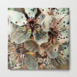 Toony World - Floral 5 Metal Print