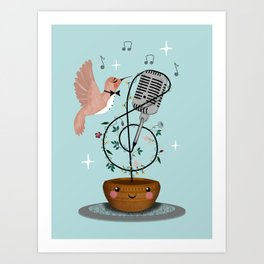 Sweetest Nectar Art Print