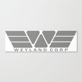 Weyland Corp - Grey Canvas Print