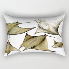 Chilean devil manta ray (Mobula tarapacana) Rectangular Pillow